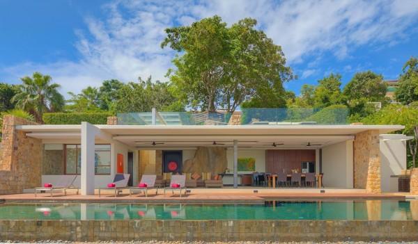 Area de churrasqueira com piscina projeto arquitetonico arquiteto rio de janeiro