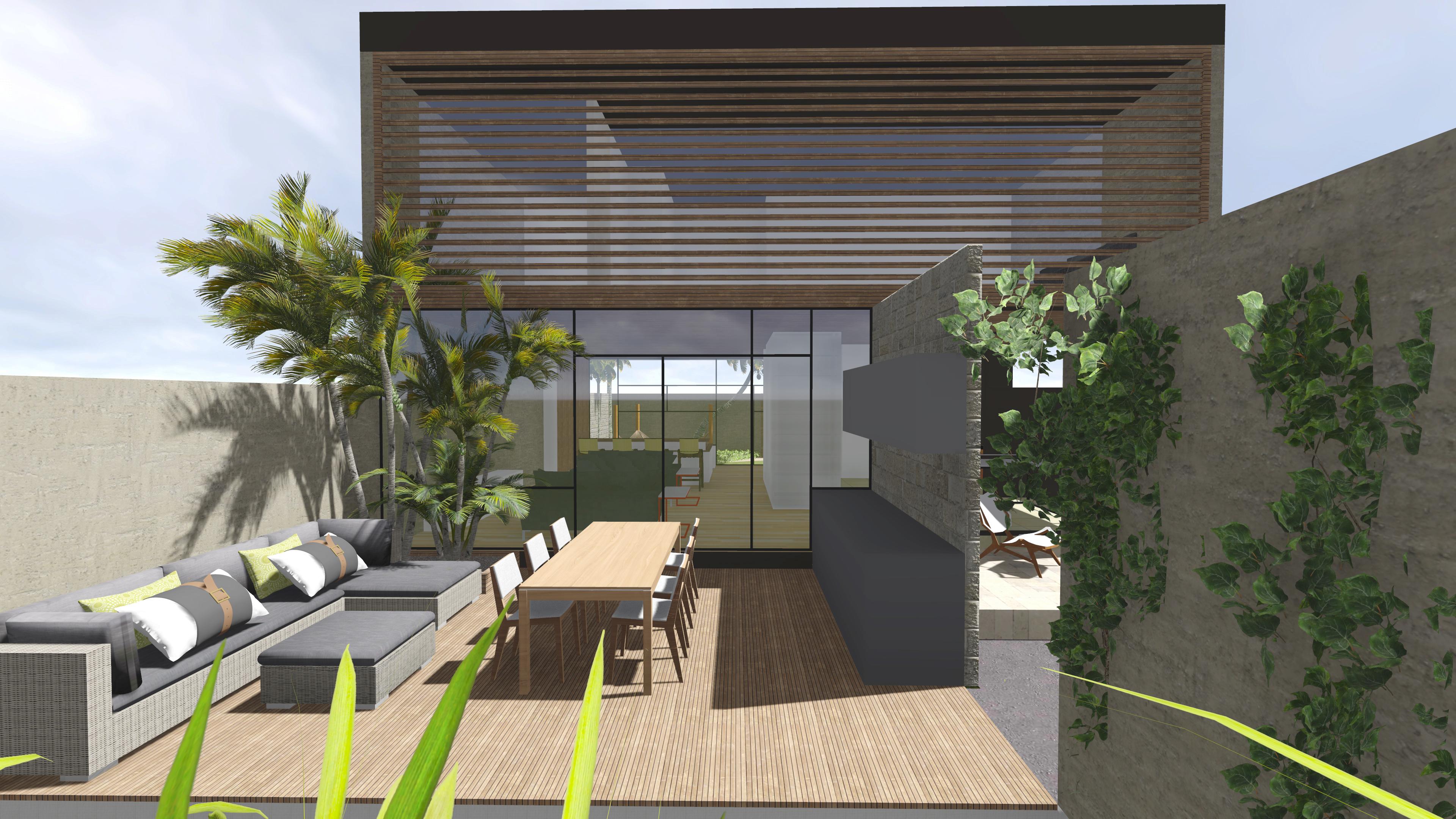 Casa Moderna projeto arquitetônico