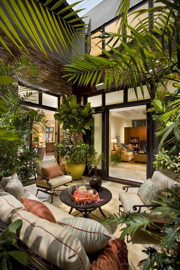 casa de campo patio