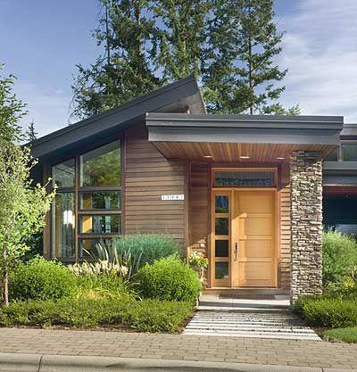 Projetos de casas modernas em planta baixa