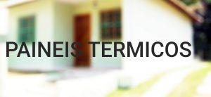 arquitetura sustentável paineis termicos