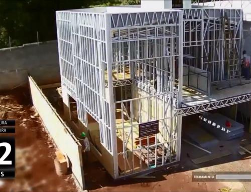 Construção Light Steel Frame