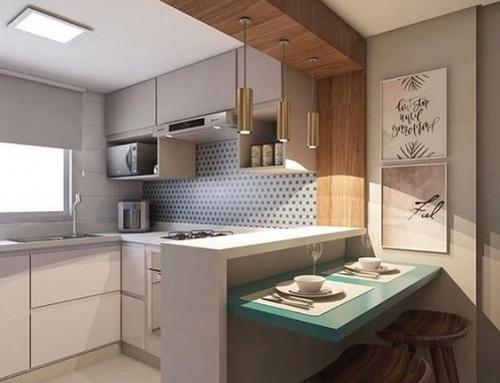 Cozinha Pequena Aberta