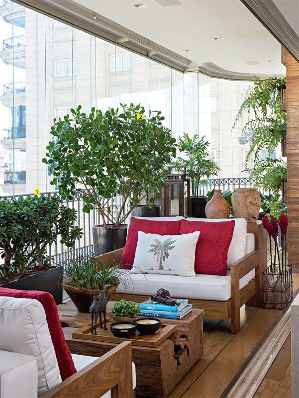 Super Varanda de Apartamento com Paisagismo - Domingos de Arquitetura OC46