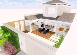 Projeto de Área de lazer Condomínio Dream Village