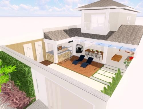 Área de lazer Condomínio Dream Village